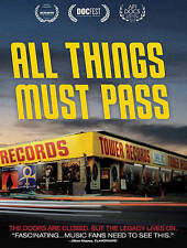 All Things Must Pass DVD in original case great shape