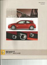RENAULT SPORT MEGANE 2 RS ENERGY - 2005 / catalogue brochure dépliant propsekt