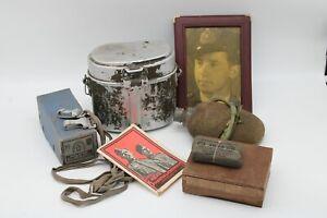 Lot d'équipement allemand allemande 39-45 ww2