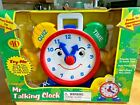"New Old Stock Battery Operated NAVYSTAR ""Mr. Talking Clock"" Toy Eckerd 450290"