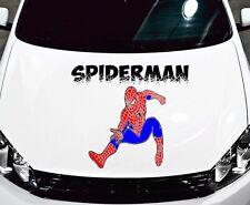 SPIDERMAN CAR DECAL GRAPHIC VINYL HOOD SIDE