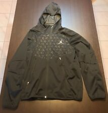 Jordan Hooded Zipped Anorak - Black - Large L