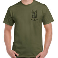Mens SAS T-Shirt Special Air Service British Forces Elite He Who Dares Wins Top