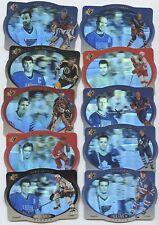 1996-97 UD SPX HOLOVIEW HEROES COMPLETE 10 CARD SET GRETZKY YZERMAN LEMIEUX ROY