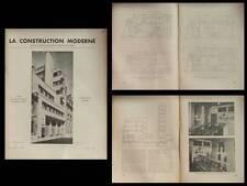 CONSTRUCTION MODERNE 1936 MALLET STEVENS, CASERNE RUE MESNIL, RACING CLUB FRANCE