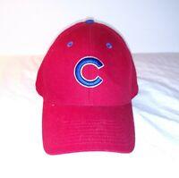Chicago Cubs Fan Favorite Adult Baseball Cap Hat One Size Red Strapback MLB