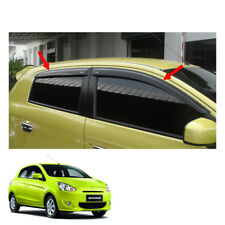 Wind Deflector Weather Guard 4 Pc Fit Mitsubishi Mirage Space Star 2012 - 2015