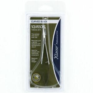 "Klasse Curved Blade Squissors, Scissors snips, 125mm, 5"" Reduce hand fatique"