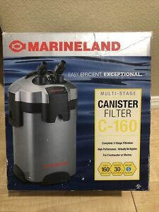 Marineland Multi-Stage 160 Canister Filter for aquariums up to 30 gallons C-160