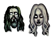 ROB ZOMBIE LIVING DEAD GIRL MASK SET OF 2 MASKS CARD STOCK OFFICIAL SHERI MOON