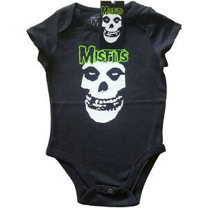 Misfits - Skull - Babygrow Romper (Ages 0-24 Months)
