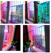 Rainbow Effect Dichroic Iridescent Rainbow Sticker window film Width:45cm