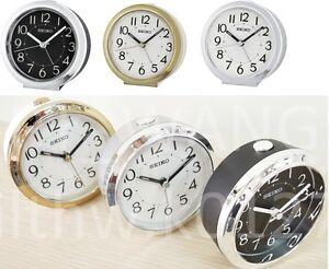 Seiko Bedside beep alarm clock Snooze Sweep Despertador +Free Ship QHE146K /G/S