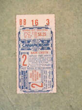 1946 WORLD SERIES TICKET - CARDINALS  RED SOX - Game 2