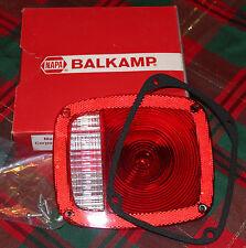 """NEW """"Old Stock"""" NAPA BALKAMP Red Tail Lamp Lens No. 680-1163"""