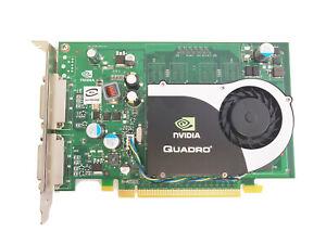 FOR HP NVIDIA QUADRO FX 370 256MB 64-Bit Dual DVI Video Card 454318-001