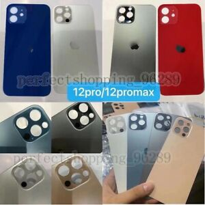 For iPhone 12 Mini 12 Pro Max Battery Cover Big Hole Back Glass Replacement Rear