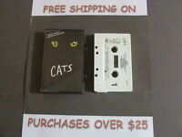 CATS COMPLETE BROADWAY CAST RECORDING SOUNDTRACK CASSETTE one ONLY C-12
