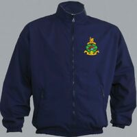 """TO CLEAR ROYAL MARINES COMMANDO TRAINING JACKET NAVY BLUE SMALL FIT TO 38"""" CHEST"""