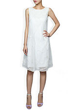 ALICE BY TEMPERLY  Ezra Ivory Dress SIZE UK 6 RRP £625 F3