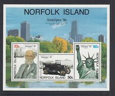 NORFOLK Island 1986 AMERIPEX '86 International Stamp Expo MINISHEET  MNH -