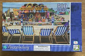 Puzzles: Puzzlebug Jigsaw Puzzle - Weymouth Beach, England, UK (500 pieces)