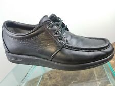 Red Wing Type 1 Static Discharge Black Leather Lace Up Oxford Shoes Mens 8.5B