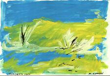 AYMARA' - TITICACA'S LAKE - Disegno Originale - Tempera su carta