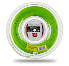 Wilson SENSATION 1.30 mm Green 200m 16gauge Tennis String Reel WR830180116
