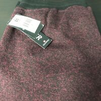 NWT🌴SouthPole Men's Long SweatPants Small S Burgundy🌴Free Shipping