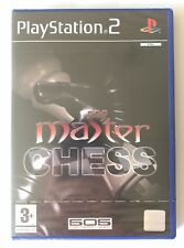 PS2 Master Chess (2005), UK Pal, Brand New & Factory Sealed