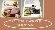 """Libro Ricettario Bimby TM5 Nuovo e Originale Vorwerk """"Torte di Casa TM5"""""""