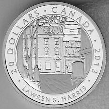 2013 Toronto Winter Street Morning $20 Pure Silver Lawren S Harris Group of 7 #4