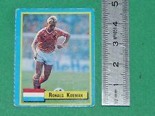 R. KOEMAN NEDERLAND BARCELONA FOOTBALL 1989-1990 VALLARDI MINI CARD PANINI