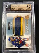 2014-15 The Cup Brett Hull Scripted Swatches /35 Graded BGS 9.5 GEM 10 Auto