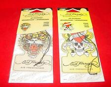 Ed Hardy Air Freshener Car Home 6 Vanilla   6 Lemon Last Ones!