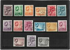 SEYCHELLES 1938-49 PICTORIAL PART SET TO 1RUPEE {15} SG.135-145A FINE USED