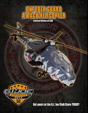 GI Joe 2012 JoeCon Convention Oktober Guard Attack Helicopter MIB LE 600