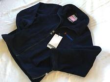 Genuine suzuki collection bleu femmes zippé veste en polaire. m