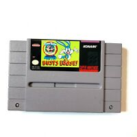 Tiny Toon Adventures Buster Busts Loose Super Nintendo SNES Game Tested Working!
