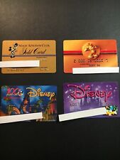 4 Expired Credit Cards For Collectors - Disney Lot 1 (3208)
