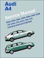 Audi A4 Service Manual 2002-2008 (B6, B7) : Including Avant and Cabriolet, Ha...