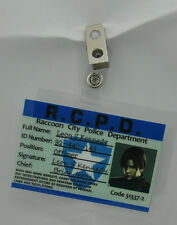 Resident Evil ID Badge-RCPD Leon S Kennedy prop costume cosplay