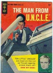 Man From Uncle #5 March 1966 Photo cover