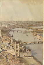 More details for p & o - s.s. himalaya menu (  1951 ) westminster bridge