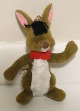Vintage Rabbit Flocked Ornament by Walt Disney 1974