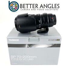 CANON Tamron SP 70-200mm F2.8 DI VC USD Lens-Risk Free Guaranteed!