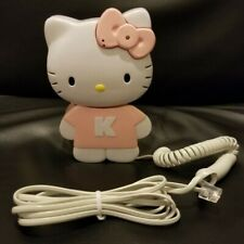 Vintage Hello Kitty Landline Kids Telephone Phone Tested Working!