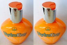2 Hempz HydroKiss Facial Bronzer Hydro Kiss Tanning Bed Lotion 3.4 oz