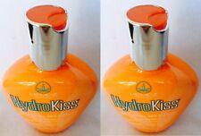 2 Hempz HydroKiss Facial Bronzer Hydro Kiss Tanning Bed Lotion 3.4 oz New
